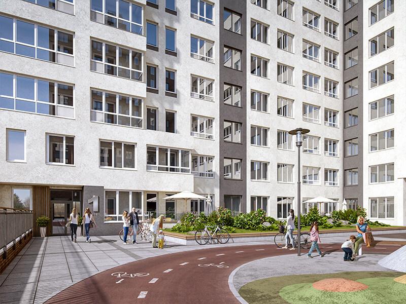 Полдома за полгода — невероятный спрос на квартиры в жилом квартале «Мельница»