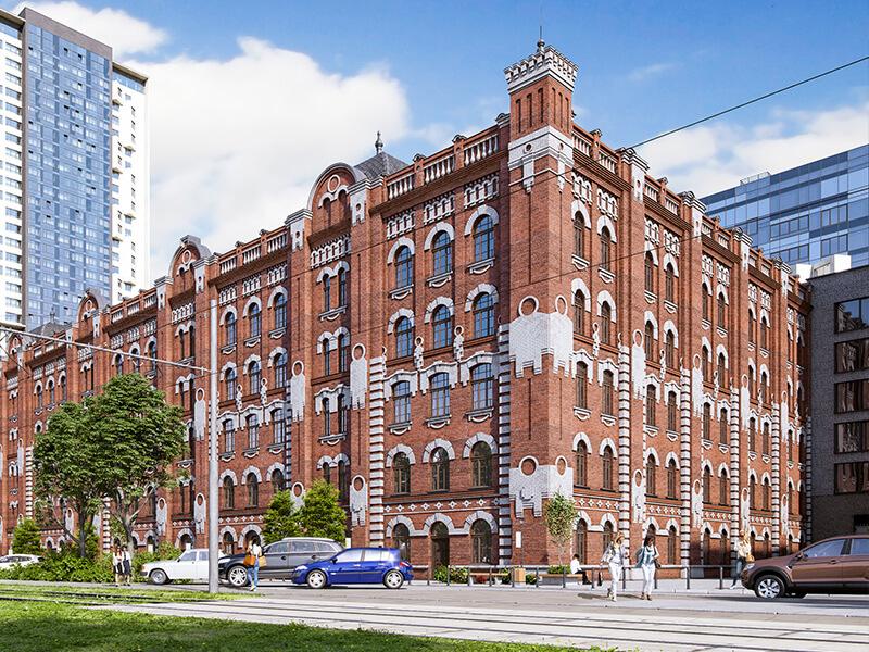 Стартовали продажи офисных помещений в историческом здании Мельницы