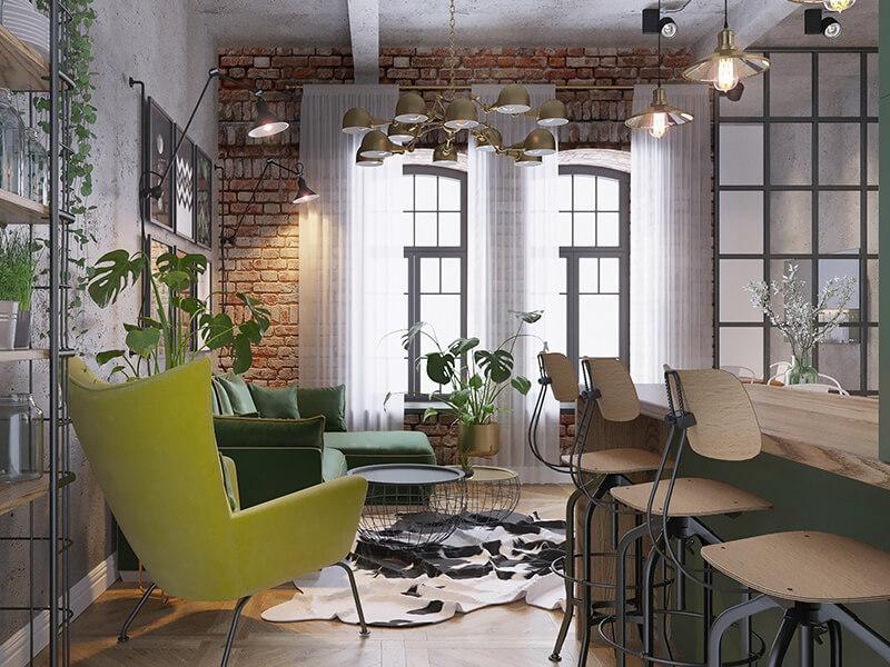 Планировки и интерьеры в жилом квартале Мельница