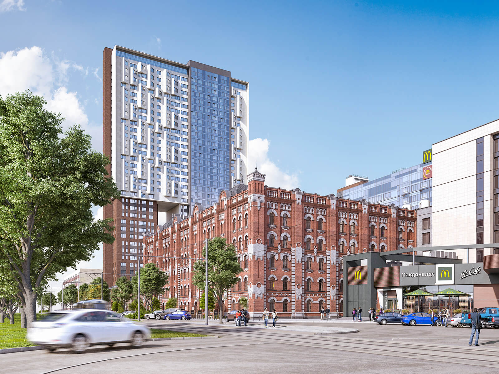36-этажная высотка получила аккредитацию крупнейших банков. Теперь купить «видовую квартиру» по цене от 2.6 млн. руб. можно и в ипотеку.