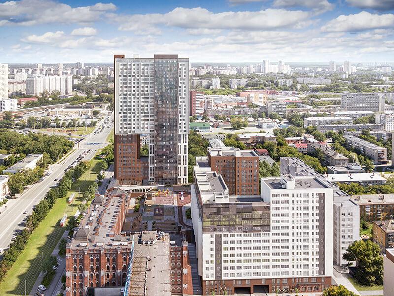 Уникальный формат нового жилья в историческом центре Екатеринбурга