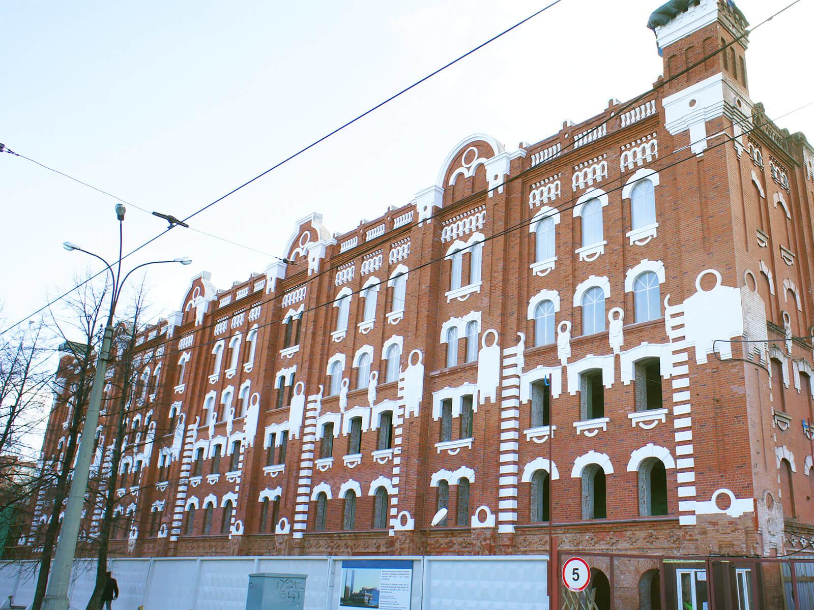 Завершена реконструкция фасада здания Мельницы Борчанинова-Первушина