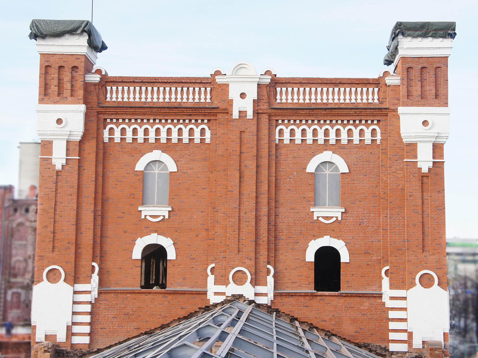 Реконструкция здания Мельницы жилого квартала Мельница