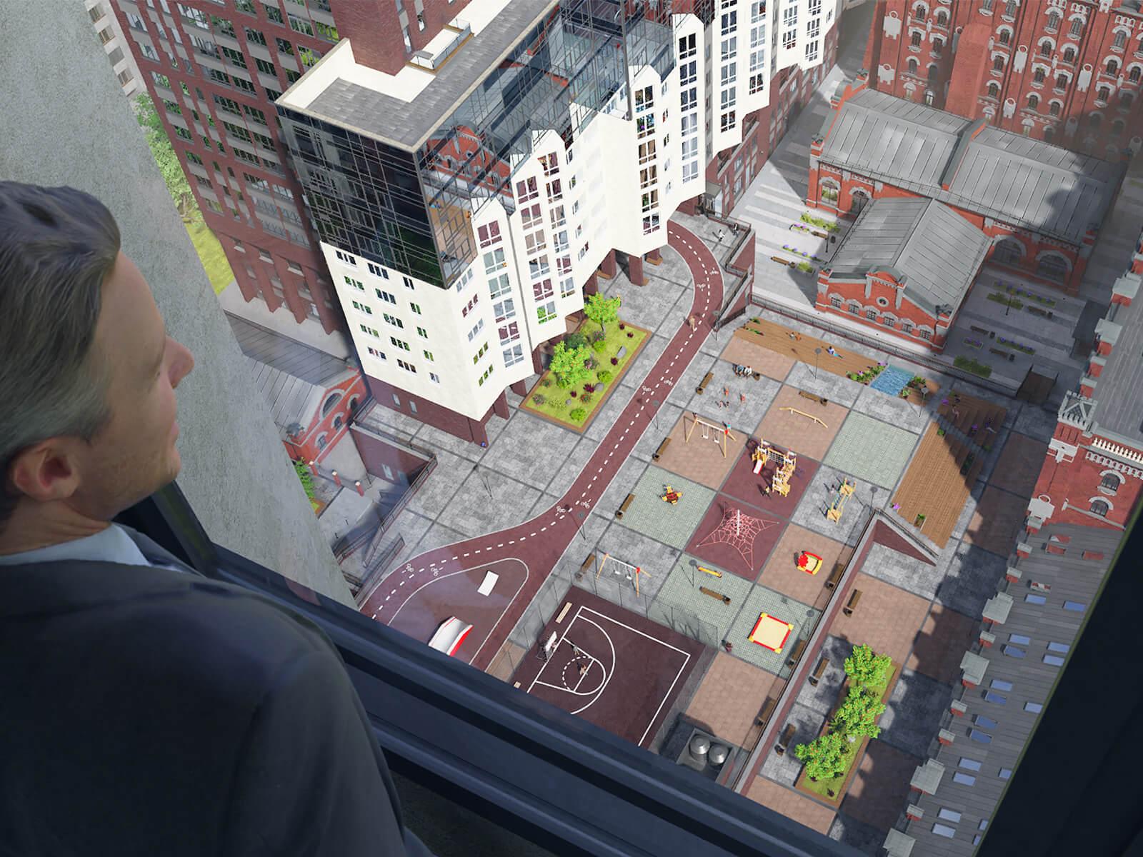 Стартовали продажи «видовых квартир» от 2.3 млн. руб. в 36-этажном жилом доме